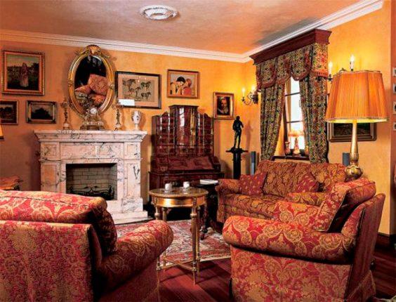 style baroque dans la maison
