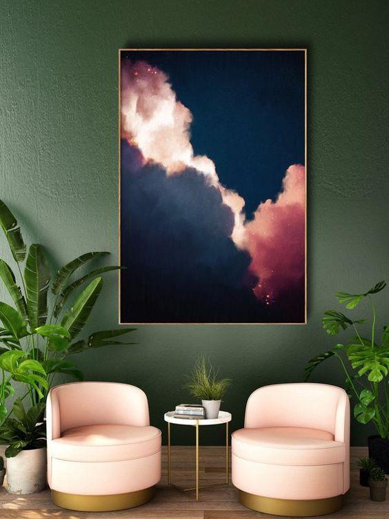 photo avec des nuages