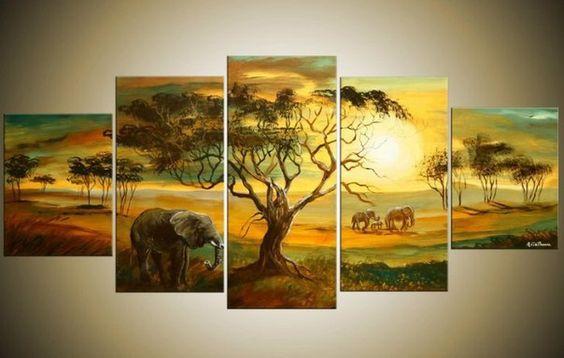 peintures modulaires aube