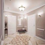 conception de couloir dans un style moderne