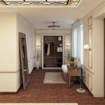 conception de couloir dans un style moderne d'appartement