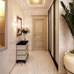 décoration intérieure du couloir de l'appartement dans une photo de style moderne