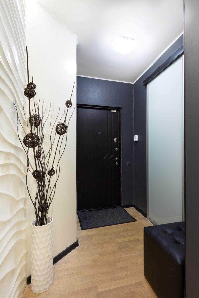 photo intérieure de petit couloir