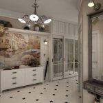 Couloir de style provençal