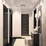 couloir dans une photo de style moderne