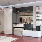 intérieur du couloir dans un style moderne