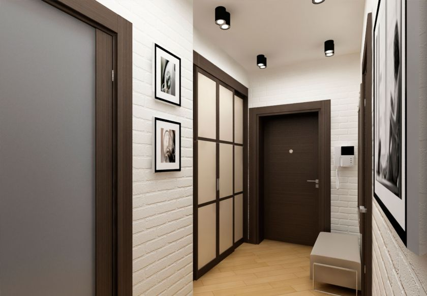 conception d'une petite photo de couloir
