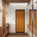 conception du couloir dans l'appartement photo