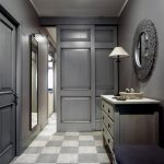 couloir en photo de style moderne