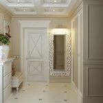 comment décorer le couloir d'un appartement dans un style moderne